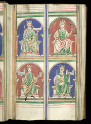 William The Conqueror And Other English Kings, In Matthew Paris's 'Epitome Of Chronicles'